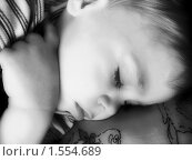 Спящий малыш. Стоковое фото, фотограф Kribli-Krabli / Фотобанк Лори