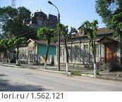 Улочка старого центра Рязани (2007 год). Стоковое фото, фотограф Валентин Тучин / Фотобанк Лори