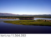 Купить «Река Колыма», фото № 1564393, снято 12 июля 2006 г. (c) Александр Мягков / Фотобанк Лори