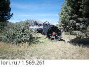 Купить «Сельскохозяйственный трактор», фото № 1569261, снято 12 марта 2010 г. (c) А. Клипак / Фотобанк Лори