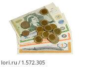Русские монеты начала 90-х и банкноты МММ. Стоковое фото, фотограф Андрей Филиппов / Фотобанк Лори