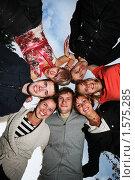 Купить «Компания веселых друзей», фото № 1575285, снято 30 августа 2008 г. (c) Константин Сутягин / Фотобанк Лори