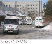 Станция скорой помощи в Тобольске (2010 год). Редакционное фото, фотограф Владимир Вейцель / Фотобанк Лори