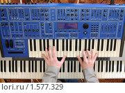Купить «Руки на клавишах», фото № 1577329, снято 20 марта 2010 г. (c) Валерий Александрович / Фотобанк Лори