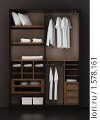 Купить «Содержимое шкафа», иллюстрация № 1578161 (c) Дмитрий Кутлаев / Фотобанк Лори