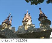 Сочи. Стилизованный замок на фоне голубого неба. Стоковое фото, фотограф Вера Попова / Фотобанк Лори