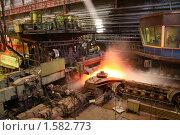 Купить «Черная металлургия», фото № 1582773, снято 16 апреля 2009 г. (c) Вадим Мякшин / Фотобанк Лори