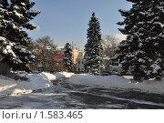 Москва зимой (2010 год). Редакционное фото, фотограф Сергей Валентинович Анчуков / Фотобанк Лори