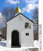 Купить «Москва. Свято-Данилов монастырь», эксклюзивное фото № 1584085, снято 17 марта 2010 г. (c) lana1501 / Фотобанк Лори