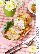 Купить «Домашняя куриная ветчина», эксклюзивное фото № 1585537, снято 19 марта 2010 г. (c) Лисовская Наталья / Фотобанк Лори