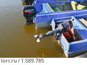 Купить «Лодки у понтона. Фрагмент», эксклюзивное фото № 1589785, снято 7 апреля 2009 г. (c) Алёшина Оксана / Фотобанк Лори