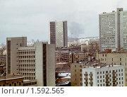 Купить «Москва зимой 1980 года», фото № 1592565, снято 15 октября 2018 г. (c) Татьяна Нафикова / Фотобанк Лори