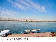 Пристань на реке Нил. Стоковое фото, фотограф Иголкин Алексей / Фотобанк Лори