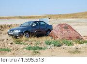 Купить «Автотуризм в степях Кубани», фото № 1595513, снято 17 августа 2009 г. (c) Анна Мартынова / Фотобанк Лори