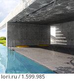 Открытый бассейн, иллюстрация № 1599985 (c) Юрий Бельмесов / Фотобанк Лори