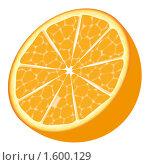 Апельсин. Стоковая иллюстрация, иллюстратор Карякина Юлия Анатольевна / Фотобанк Лори