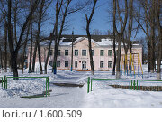 Купить «Школа №38 города Брянска», фото № 1600509, снято 27 февраля 2010 г. (c) Александр Шилин / Фотобанк Лори