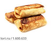 Купить «Русские блины, фаршированные мясом», фото № 1600633, снято 7 августа 2009 г. (c) ElenArt / Фотобанк Лори