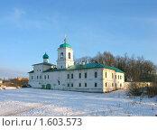 Купить «Мирожский монастырь в Пскове зимой», фото № 1603573, снято 14 марта 2009 г. (c) Валентина Троль / Фотобанк Лори