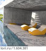 Купить «Открытый бассейн», иллюстрация № 1604381 (c) Юрий Бельмесов / Фотобанк Лори