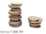 Два столбца монет. Стоковое фото, фотограф Верстова Арина / Фотобанк Лори