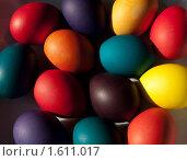 Пасхальные яйца. Стоковое фото, фотограф Вера Власенко / Фотобанк Лори