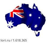Купить «Австралия Карта Страны Флаг», иллюстрация № 1618365 (c) Савельев Андрей / Фотобанк Лори