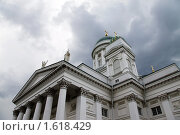 Купить «Кафедральный собор в Хельсинки», фото № 1618429, снято 7 августа 2009 г. (c) Андрей Ерофеев / Фотобанк Лори