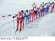 Купить «Чемпионат России по лыжным гонкам среди мужчин», фото № 1622677, снято 11 апреля 2010 г. (c) Валерий Александрович / Фотобанк Лори