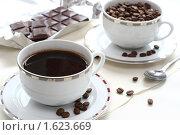 Купить «Кофе и шоколад», фото № 1623669, снято 12 апреля 2010 г. (c) Дорощенко Элла / Фотобанк Лори