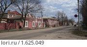 Купить «Старинная улица  в древнем городе Трубчевске», фото № 1625049, снято 13 апреля 2010 г. (c) Александр Шилин / Фотобанк Лори