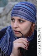 Загадочная женщина. Стоковое фото, фотограф Мельничук Александр / Фотобанк Лори