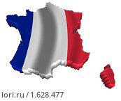 Купить «Франция карта страна флаг», иллюстрация № 1628477 (c) Савельев Андрей / Фотобанк Лори