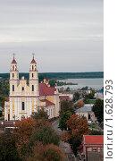 Купить «Костел св. Троицы, Глубокое, Беларусь», фото № 1628793, снято 1 октября 2009 г. (c) Валерий Лисейкин / Фотобанк Лори