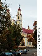 Купить «Костел св. Троицы, Глубокое, Беларусь», фото № 1628849, снято 1 октября 2009 г. (c) Валерий Лисейкин / Фотобанк Лори