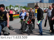 Купить «Девятого мая на Поклонной горе в Парке Победы. Москва», эксклюзивное фото № 1633509, снято 9 мая 2009 г. (c) lana1501 / Фотобанк Лори