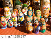 Купить «Матрёшки», фото № 1638697, снято 3 апреля 2010 г. (c) ИВА Афонская / Фотобанк Лори