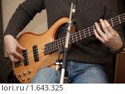 Купить «Гитарист», фото № 1643325, снято 26 октября 2009 г. (c) Losevsky Pavel / Фотобанк Лори
