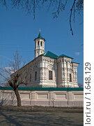 Купить «Апанаевская мечеть (Вторая соборная г. Казань)», эксклюзивное фото № 1648129, снято 17 апреля 2010 г. (c) Кучкаев Марат / Фотобанк Лори