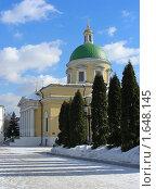 Купить «Москва. Свято-Данилов монастырь», эксклюзивное фото № 1648145, снято 17 марта 2010 г. (c) lana1501 / Фотобанк Лори