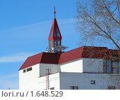 Купить «Пожарная часть N 31», эксклюзивное фото № 1648529, снято 18 марта 2010 г. (c) lana1501 / Фотобанк Лори