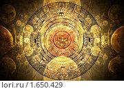 Купить «Календарь майя», иллюстрация № 1650429 (c) Лукиянова Наталья / Фотобанк Лори