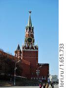 Купить «Кремль», фото № 1651733, снято 3 апреля 2010 г. (c) Мастепанов Павел / Фотобанк Лори