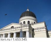 Центральный собор в Молдове (2010 год). Стоковое фото, фотограф Татьяна Добринчук / Фотобанк Лори