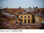 Купить «Крыша», фото № 1655105, снято 8 апреля 2010 г. (c) Дмитрий Краснов / Фотобанк Лори