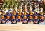 Шахматы с рисунком американского флага, фото № 1658825, снято 3 апреля 2010 г. (c) ИВА Афонская / Фотобанк Лори