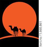Купить «Мираж в пустыне», иллюстрация № 1660861 (c) Алексей Судариков / Фотобанк Лори