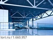 Купить «Пустой холл бизнес-центра», фото № 1660957, снято 15 апреля 2010 г. (c) Бабенко Денис Юрьевич / Фотобанк Лори