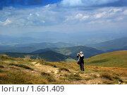 Купить «На горе Говерла», фото № 1661409, снято 30 июля 2009 г. (c) Aleksander Kaasik / Фотобанк Лори