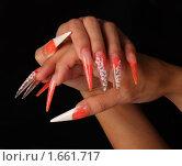 Купить «Ногти», фото № 1661717, снято 6 августа 2009 г. (c) Константин Степаненко / Фотобанк Лори